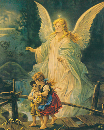 The Guardian Angel Posters by  The Victorian Collection