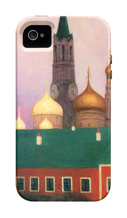 View of the Kremlin in Moscow iPhone 4/4S Case
