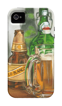 Beer Series libation iPhone case design artwork