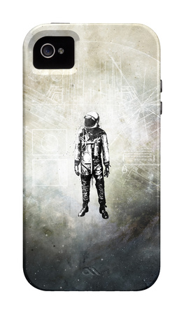 Voyager II image symbolism iPhone case design artwork