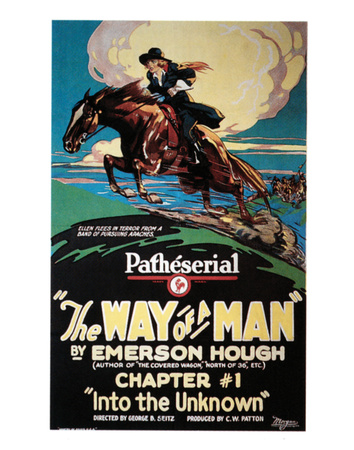The Way Of A Man - 1924 Giclee Print
