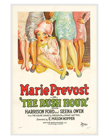 The Rush Hour - 1928 reproduction procédé giclée