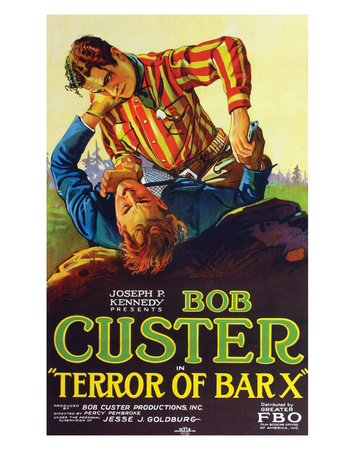 Terror Of Bar X - 1927 Giclee Print