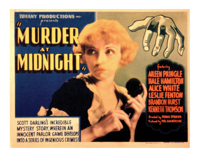Murder at Midnight - 1931 reproduction procédé giclée