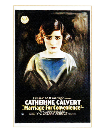 Marriage For Convenience - 1919 Lámina giclée