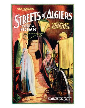 Streets Of Algiers - 1928 Giclee Print