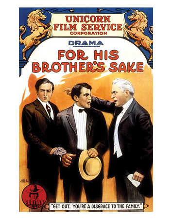 For His Brother's Sake - 1914 Giclee Print