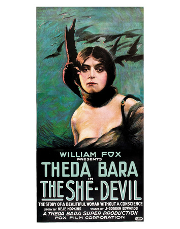The She Devil - 1918 Giclee Print