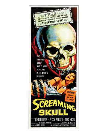 The Screaming Skull - 1958 Giclee Print