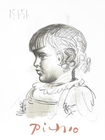 Portrait d'Enfant Samlertryk