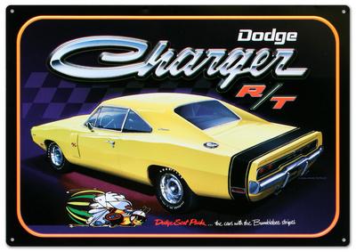 Dodge Charger R/T Car Tin Sign