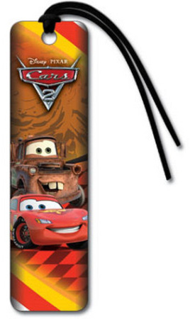 Cars 2 Movie Lightning and Mater Beaded Bookmark Bookmark