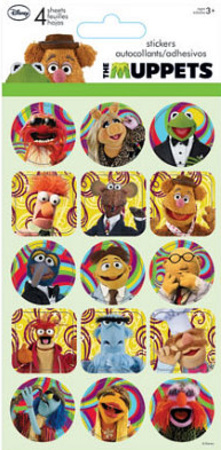 The Muppets Stickers Adesivos