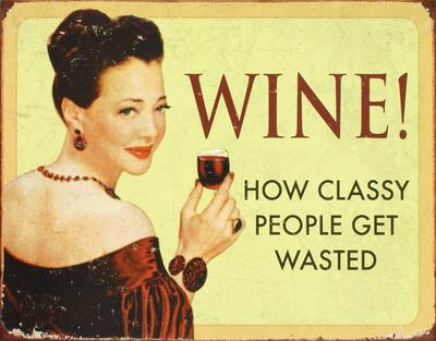 wino plakat hasło