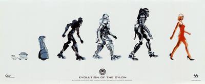 Battlestar Galactica - Evolution of the Cylon Posters