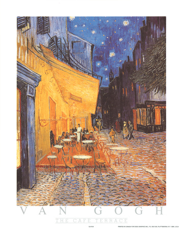 The Cafe Terrace Photo by Vincent van Gogh