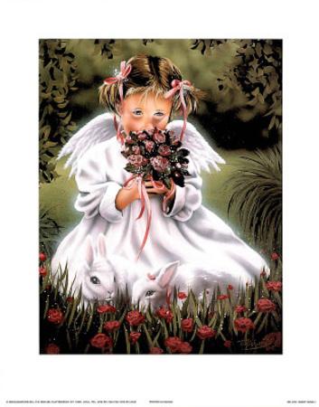 Sweet Angel l Prints by T Richard
