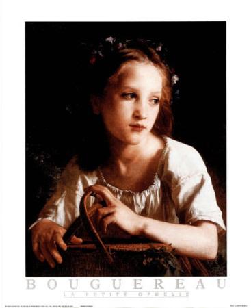 La Petite Ophelie Photo by William Adolphe Bouguereau