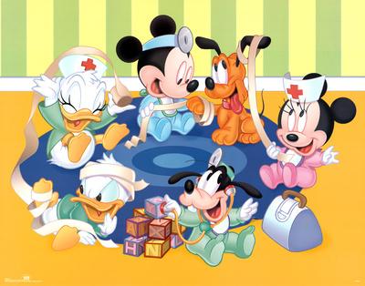 Disney Babies Kid Doctors Posters