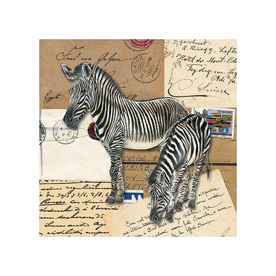 Africa Zebras Art