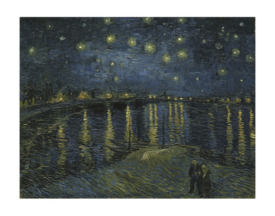 Starry Night Over the Rhone Posters by Vincent van Gogh