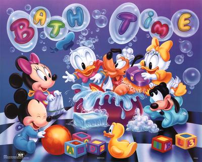 Disney Babies Bath Time Prints