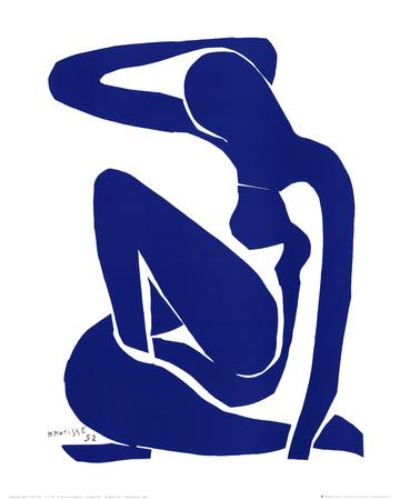 ブルー・ヌード I ポスター : アンリ・マティス