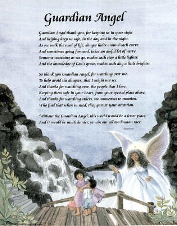 Guardian Angel (Poem) Prints