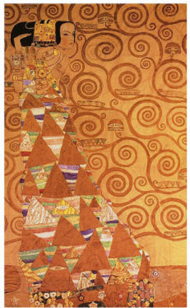 Expectation Posters by Gustav Klimt