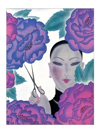The Florist Prints by Frank Mcintosh
