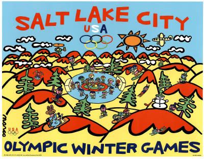 Olympics Salt lake City 2002 Prints by Marco Winter