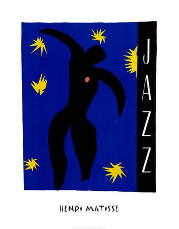 ジャズ 高品質プリント : アンリ・マティス