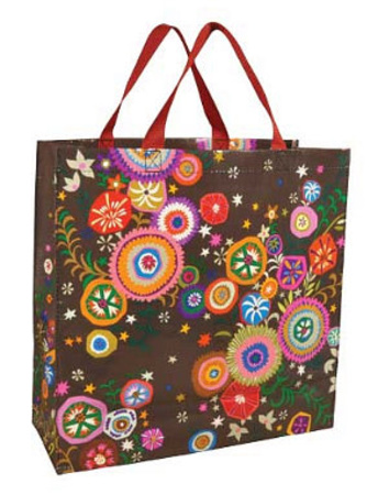 Pretty Print Shopper Bag Sac cabas