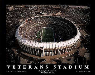 Philadelphia Eagles Veterans Stadium Final Season, c.1971-2003 Sports Posters by Mike Smith