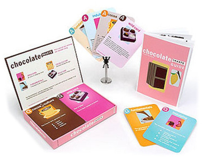 Chocolate Smarts Question & Answer Cards Game Game