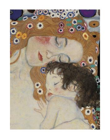 The Three Ages of Woman Detail Láminas por Gustav Klimt