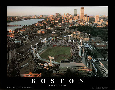 Boston Red Sox Fenway Park All-Star Game Sports Posters