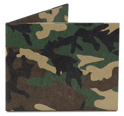 Camo Tyvek Mighty Wallet Portemonnee
