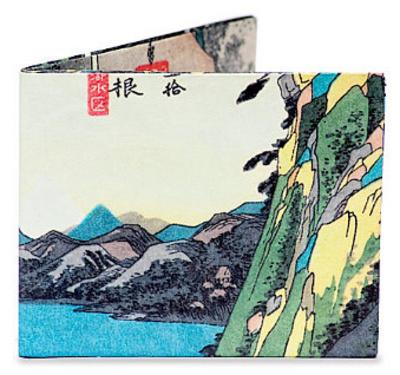 Utagawa Hiroshige Tyvek Mighty Wallet Portemonnee