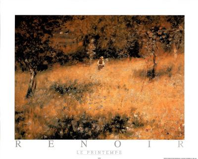 Le Printemps Prints by Pierre-Auguste Renoir