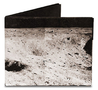 Apollo Moon Tyvek Mighty Wallet Wallet