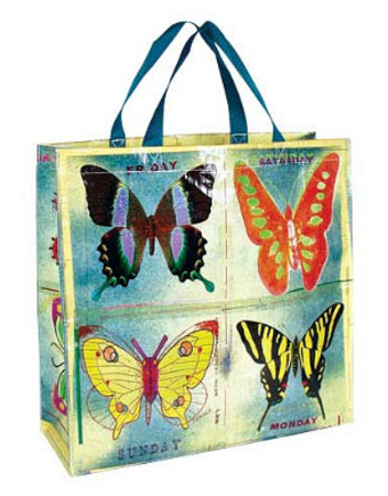 Butterfly Shopper Bag Tote Bag