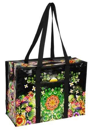 Moon Garden Shower black tote bag
