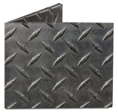 Diamond Plate Tyvek Mighty Wallet Portemonnee