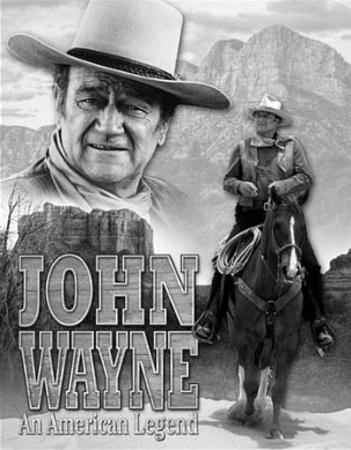 John Wayne American Legend Movie Tin Sign