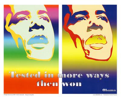 Barack Obama Tested in More Ways Then Won Art Print Poster Prints