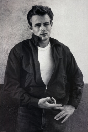 James Dean Pointing Movie Poster Print Poster