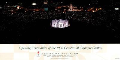 Opening Ceremonies, c.1996 Atlanta Olympic Games Posters