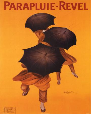 Leonetto Cappiello Parapluie Revel Art Print Poster Print