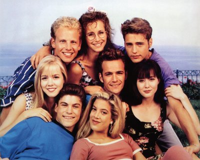 Beverly Hills, 90210 (Group) Glossy TV Photo Photograph Print Photo